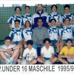 Under 16 Maschile 1995 96