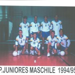 juniores. 94-95